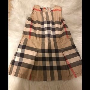 Authentic Burberry Girls Dress Size 5Y!!!